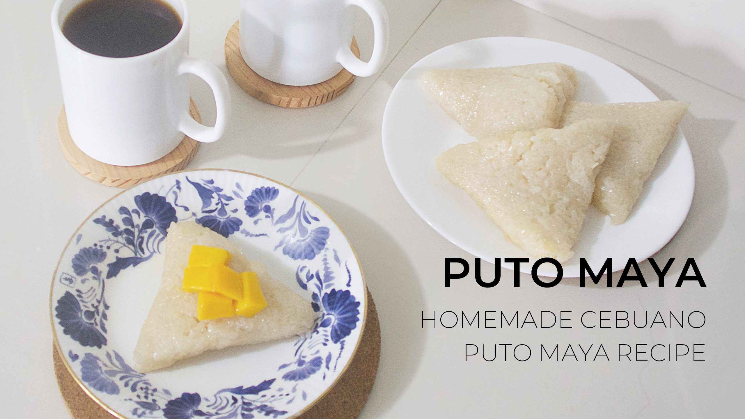 Homemade Cebuano Puto Maya Recipe