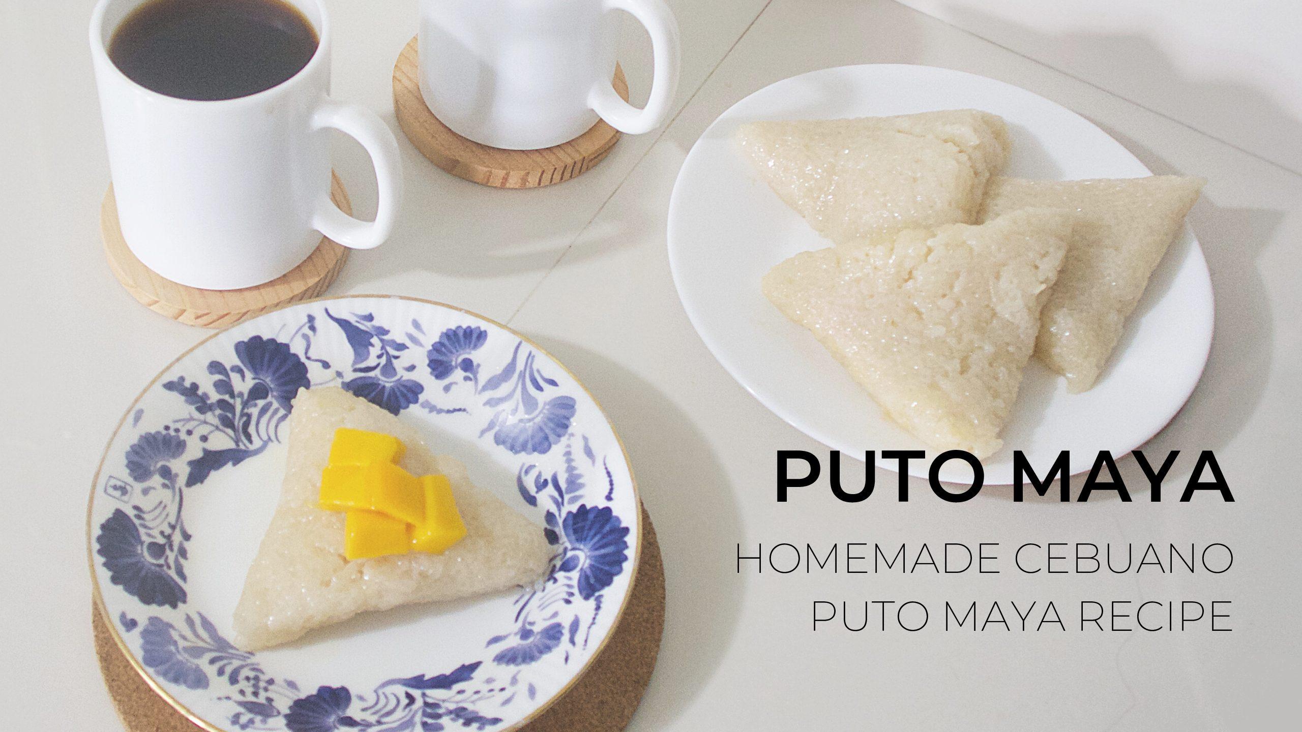 Homemade Cebuano Puto Maya Recipe
